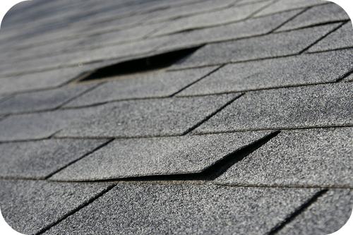 shingle roof storm damage