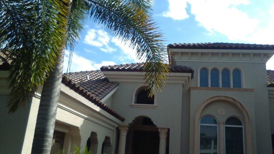 Tile roof in Apollo Beach FL