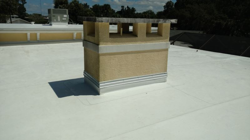 nice tpo flat roof