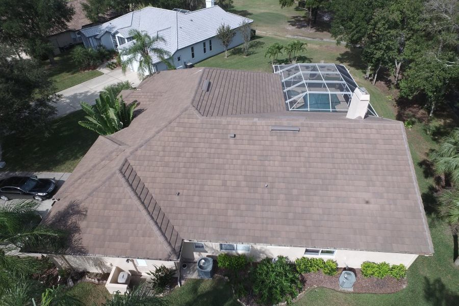 oldsmar tile roof ariel view
