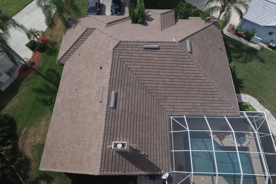 oldsmar tile roof drones