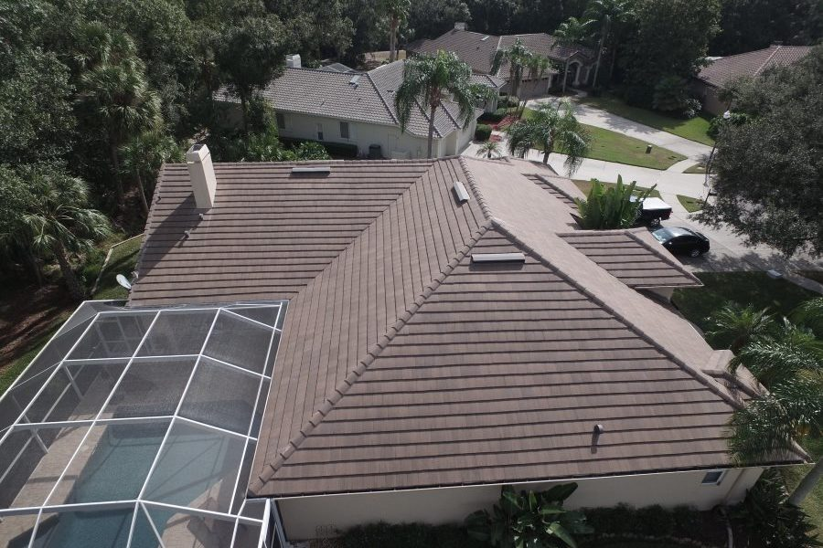 oldsmar tile roof sky view