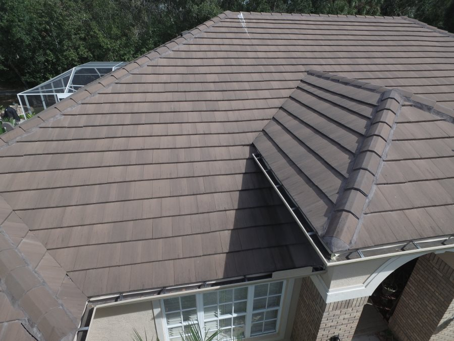 Eagle tile roof bel air color brown gray range the roofing oldsmar tile roof complete ppazfo