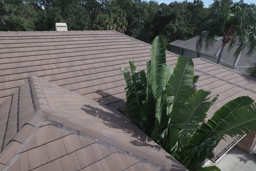 Eagle Tile Roof Bel Air Color Brown Gray Range The