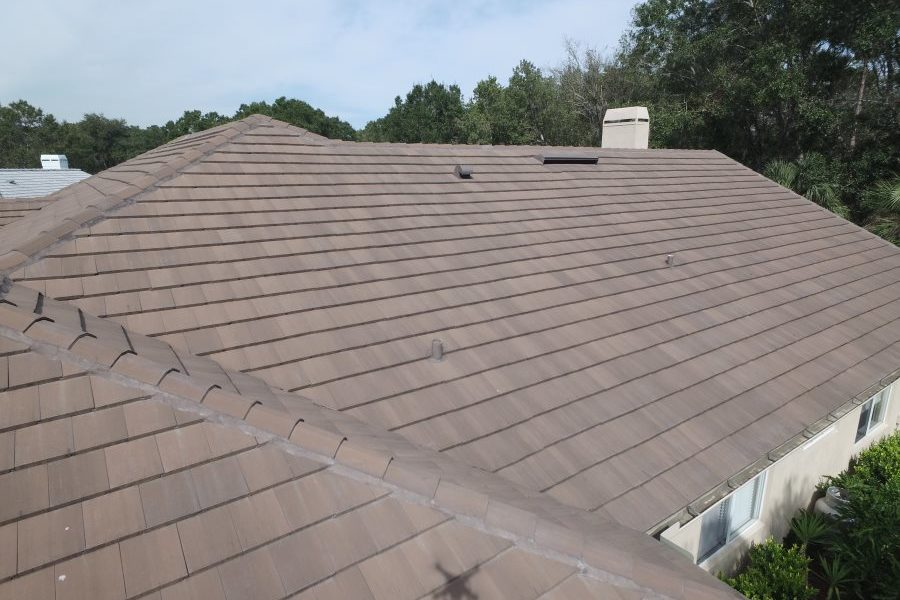 oldsmar tile roof sdie view