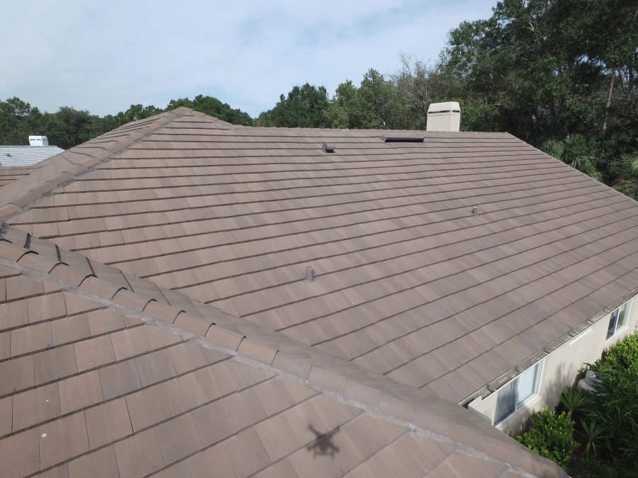 Eagle Tile Roof Bel Air Color Brown Gray Range The