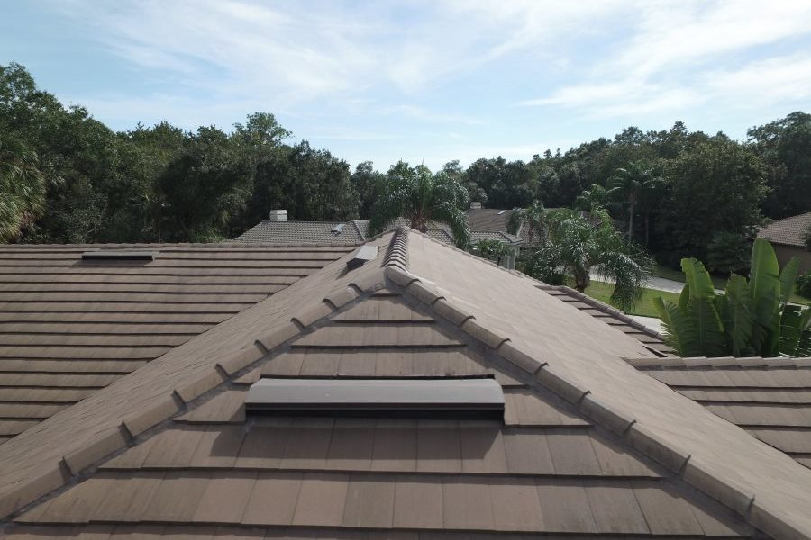 oldsmar tile roof ridge vent