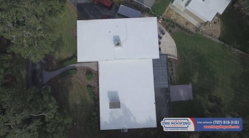 tpo flat roof tarpon springs
