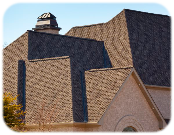 complex roof shingles and material