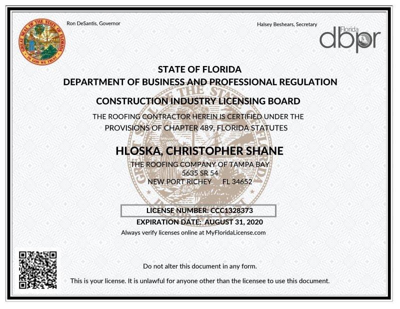 2019 license