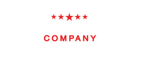 the roofing company logo