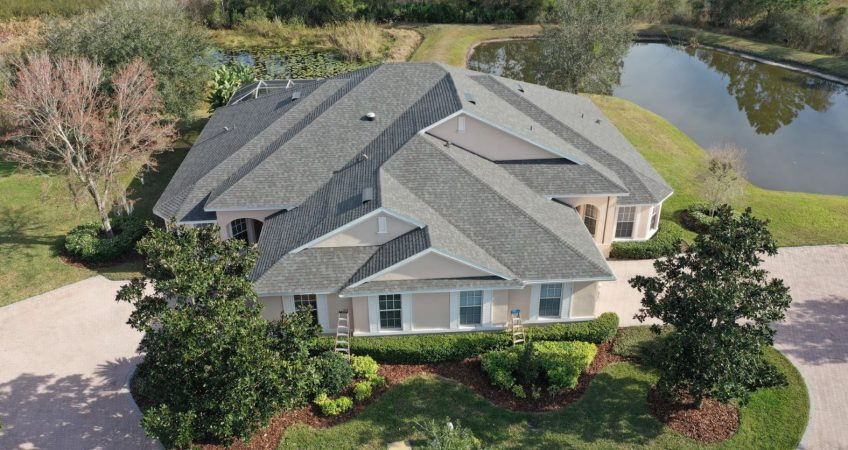 clearwater florida drone roof