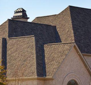 detailed shingle roof