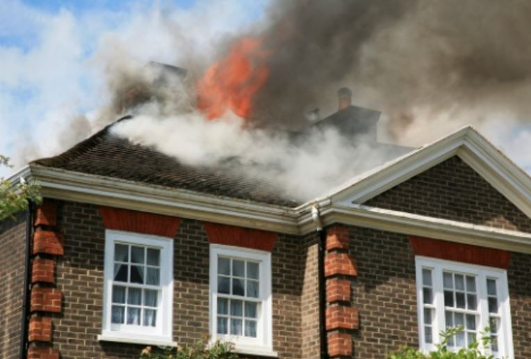 roof fire damage in clearwater florida