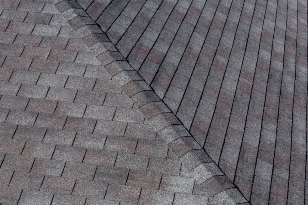 shngle roof grey